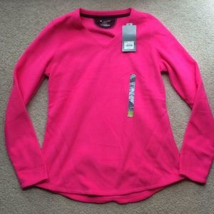 Tekgear medium fleece sweatshirt hot pink!!